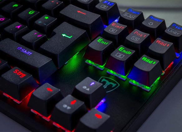 victsing tastatur rgb
